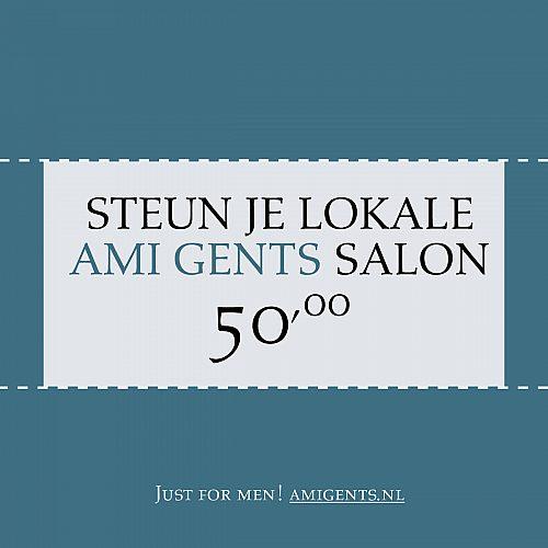 AMI Waardebon 50 euro AMI Gents
